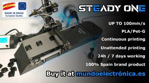 Impresora 3d Contínua Steady One